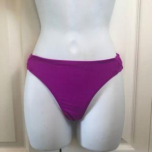 OP Fuschia Swimsuit Bikini Bottom sz M (7/9)